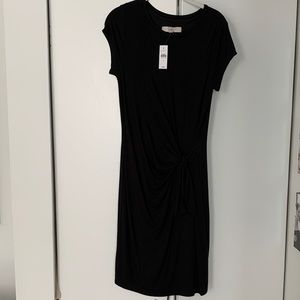 Loft Knot-Front T-shirt Dress - NWT